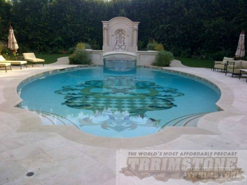 Trrimstone Products Llc Cast Stone Pool Coping Products
