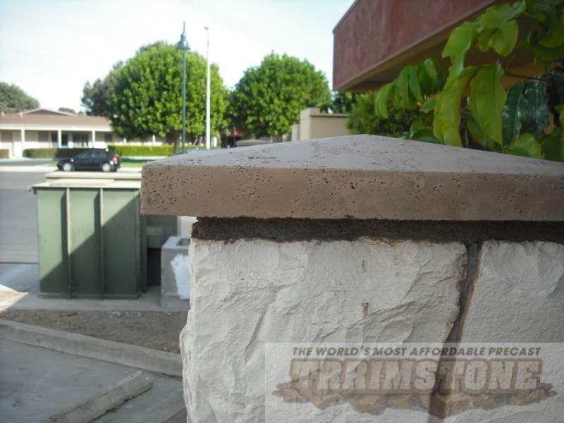 Photo Gallery Wall Caps And Column Caps Precast Concrete