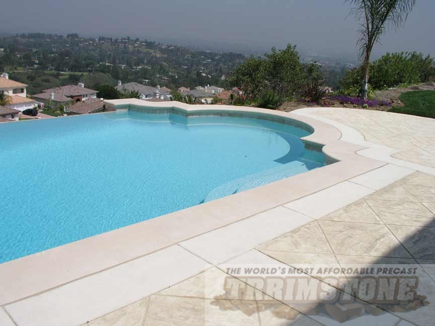 Trrimstone Pool Coping Photos