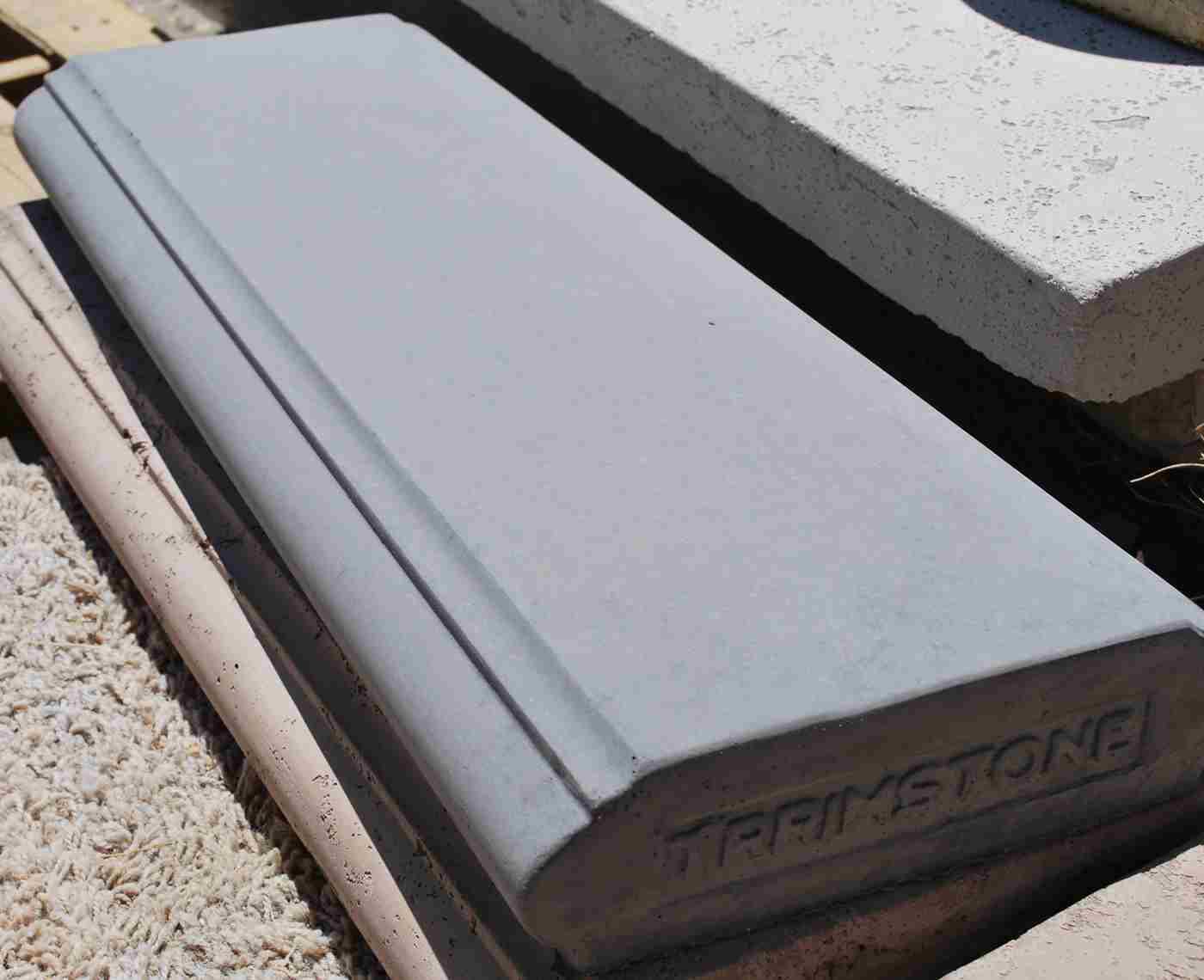 Cement Wall Caps : Column caps cast concrete pilaster precast